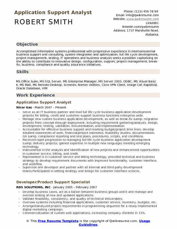 Application Support Analyst Resume Samples QwikResume - Fixed Base Operator Sample Resume