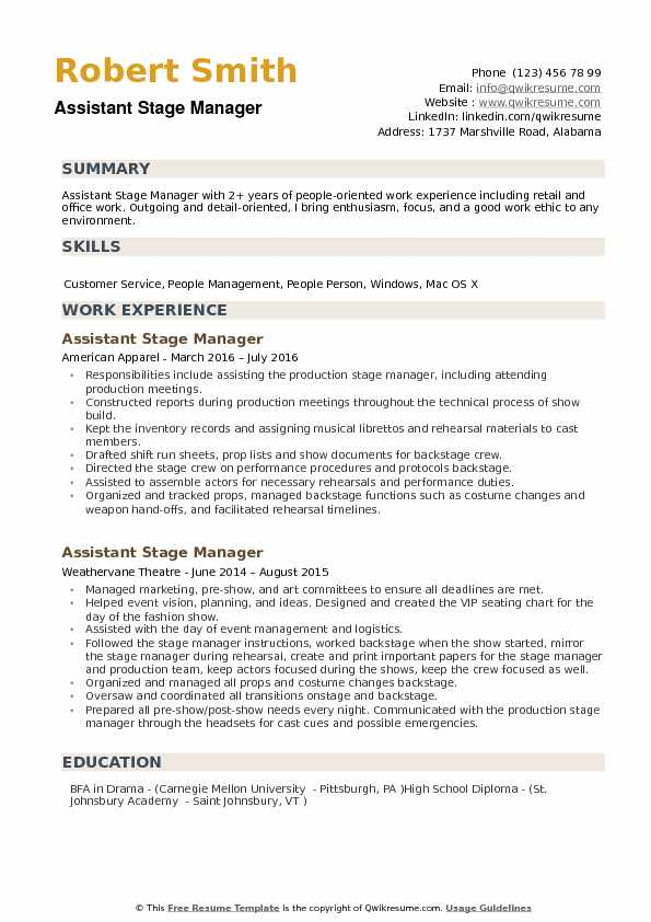assistant manager resume samples