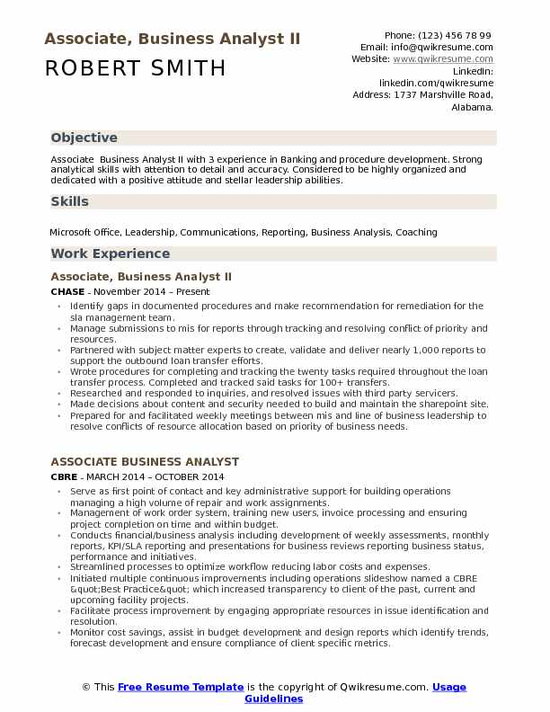 Associate Analyst Resume Click Here To Download This Equity - associate analyst sample resume