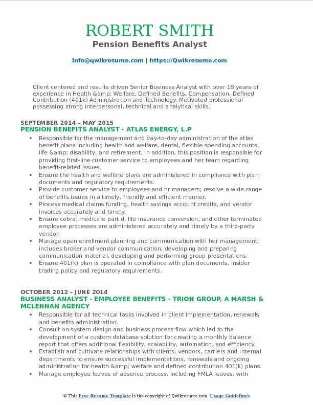 Benefits Analyst Resume Samples QwikResume - Compensation Analyst Resume