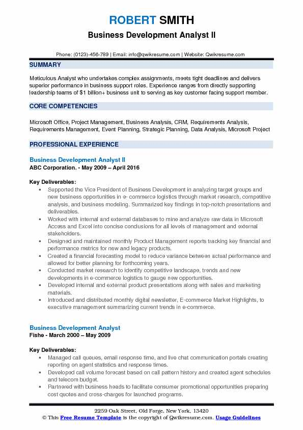 Business Development Analyst Resume Samples QwikResume - Business Development Resume Samples