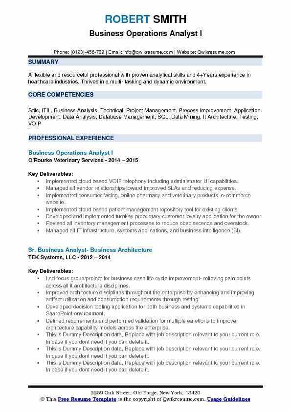 Resume Database Mining
