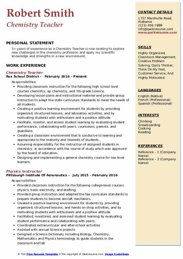 k state resume guide