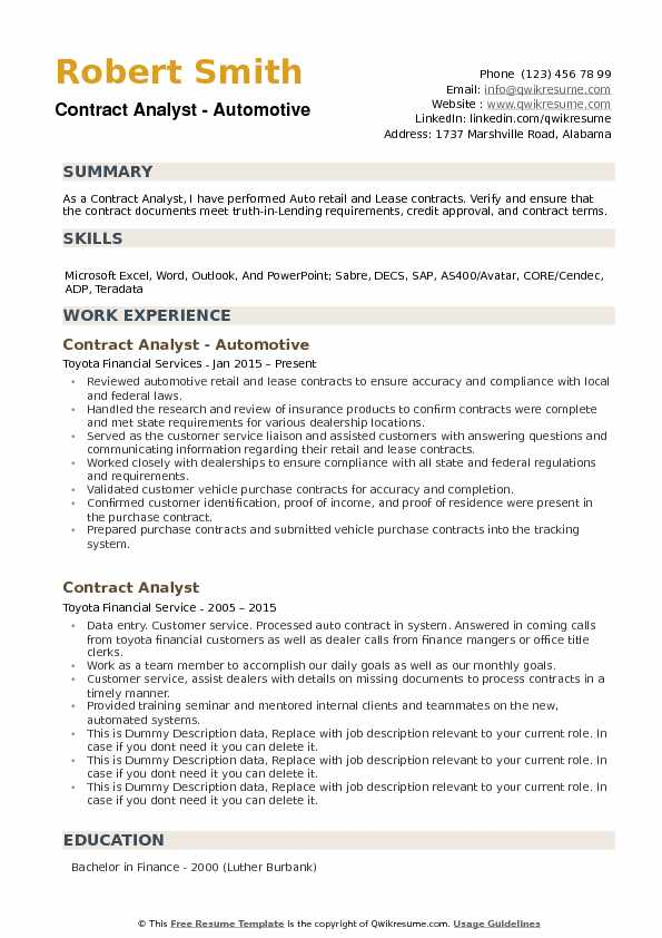 Oil And Gas Lease Analyst Sample Resume Oil And Gas Lease Analyst - contract analyst sample resume