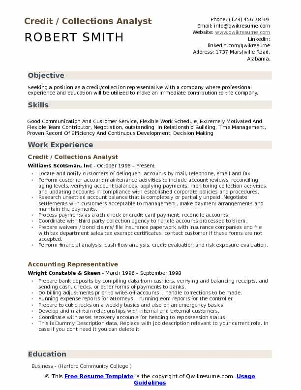 resume examples for making the work schedule