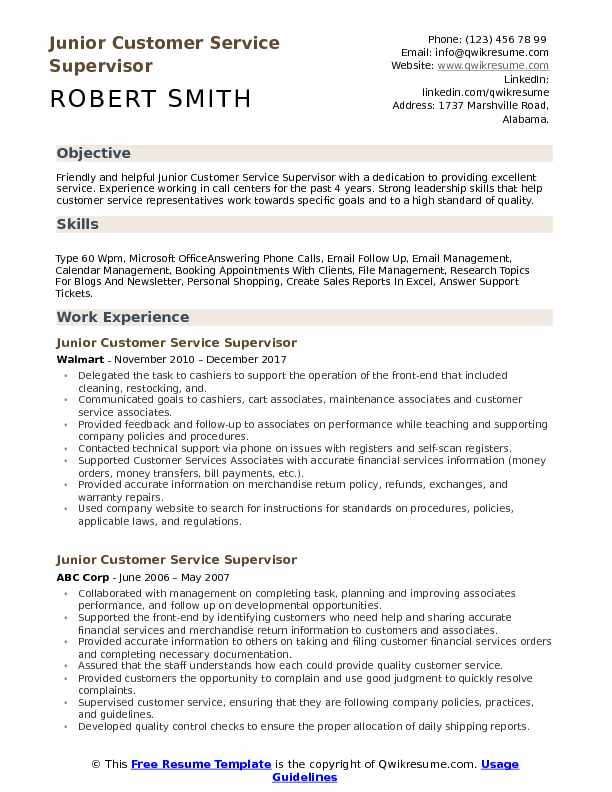 Customer Service Supervisor Resume Samples QwikResume - Customer Service Supervisor Resume Sample