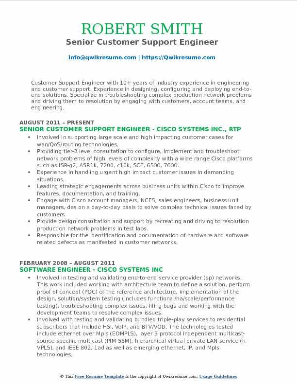 Great Application Support Engineer Resume Sample Images \u003e\u003e Software