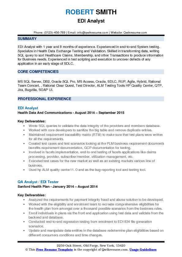 sample resume for ui developers with 1 year experience