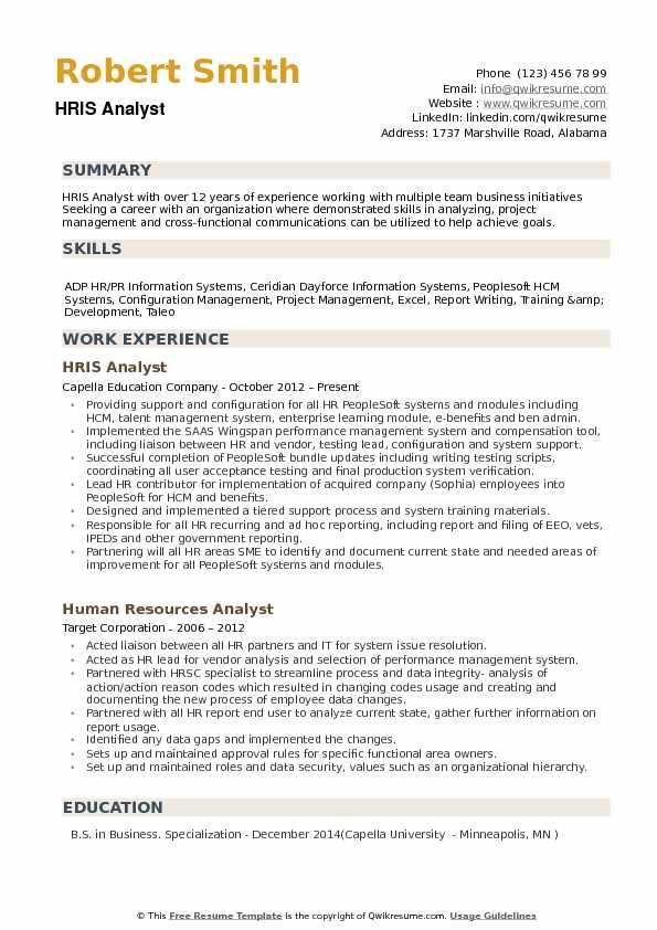 resume samples data analyst
