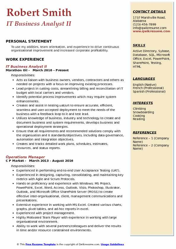 Sharepoint Business Analyst Sample Resume cvfreepro - Sharepoint Business Analyst Sample Resume