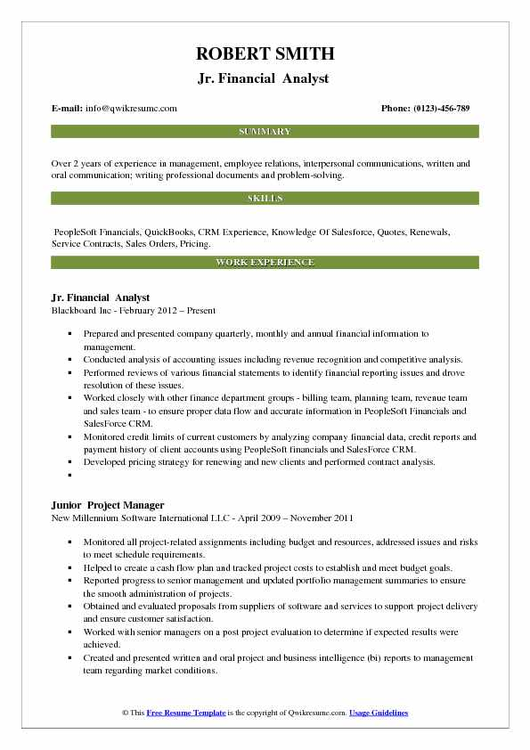 Accounting Resume Samples, Examples and Tips - experience summary resume