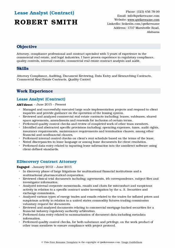 Lease Analyst Resume Samples QwikResume - quality control auditor sample resume