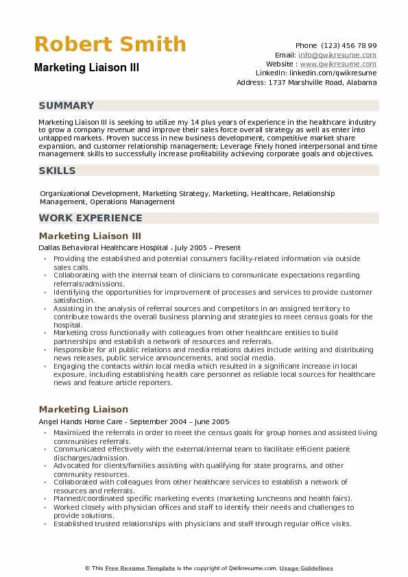 home school liaison resume examples