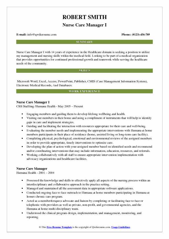Nurse Resume Samples, Examples and Tips
