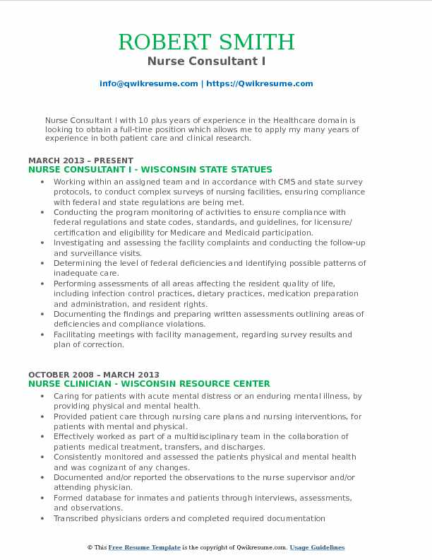 Unforgettable Registered Nurse Resume Examples To Stand Outcertified