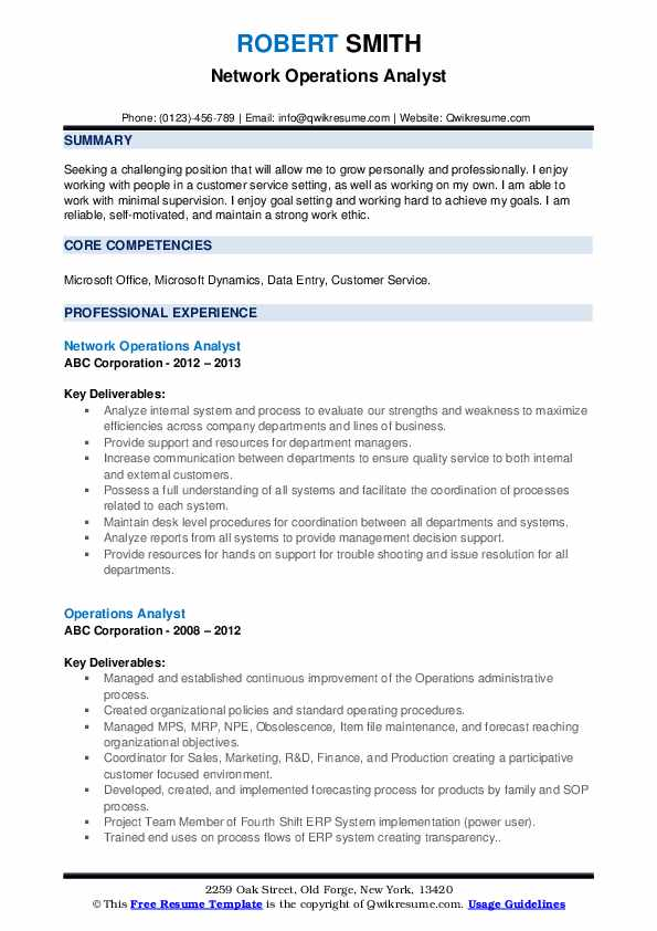 resume example for statistical programming