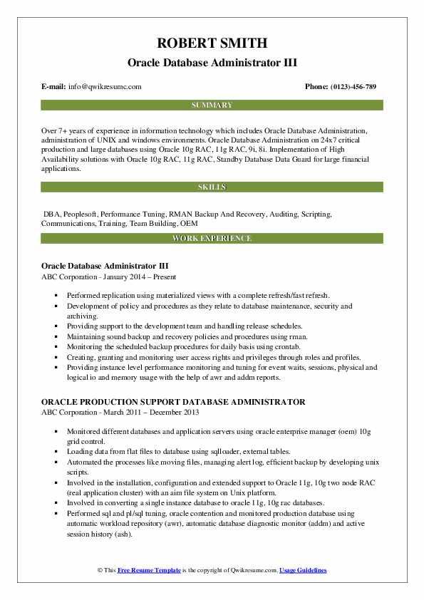 resume database replication