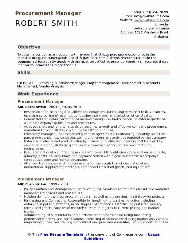 written resume samples