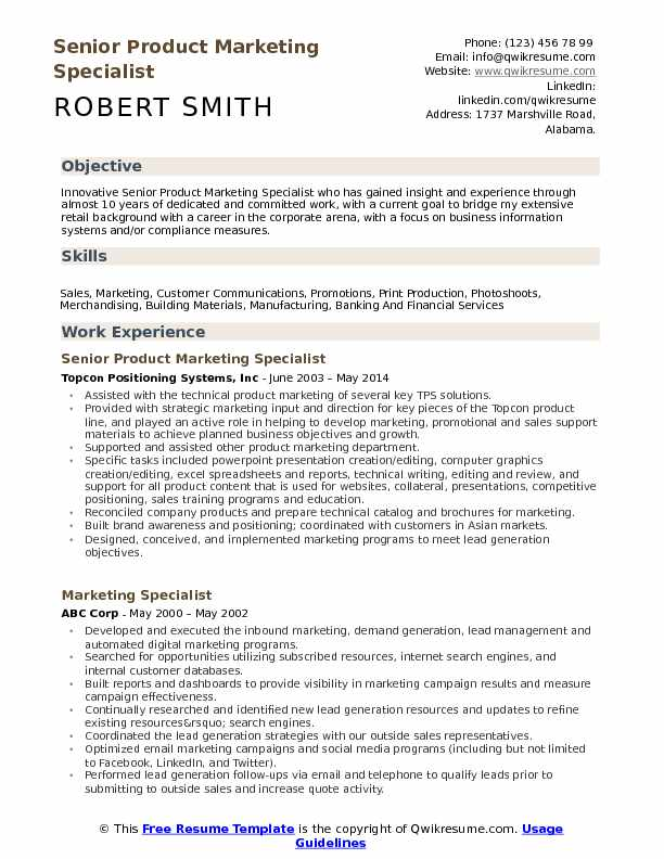 print marketing and sales resume samples