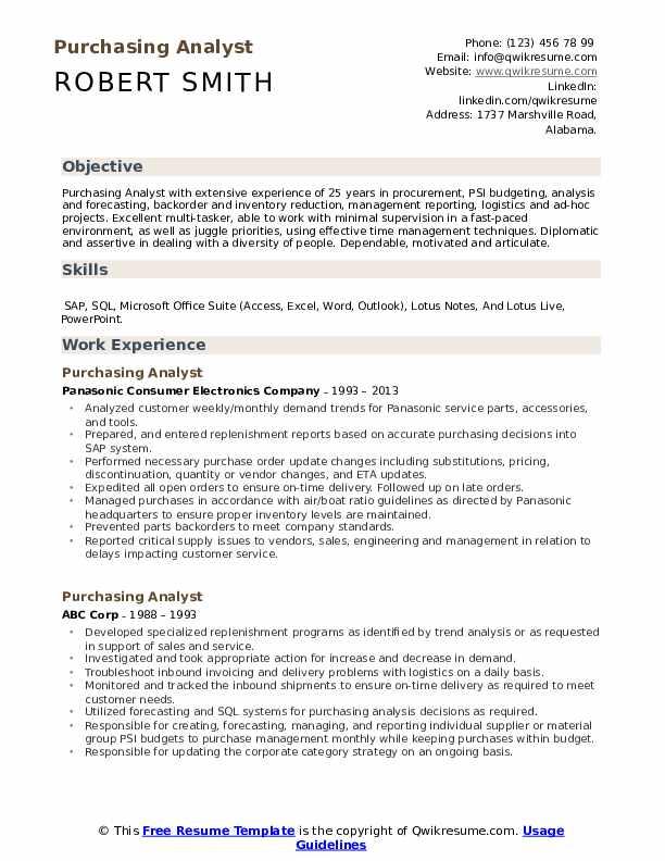 resume skills dependable