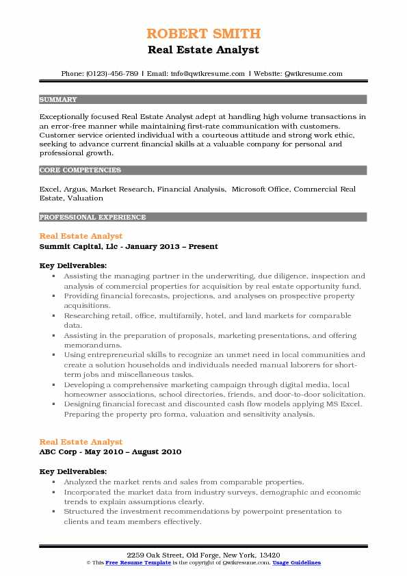 resume samples for jobs pdf