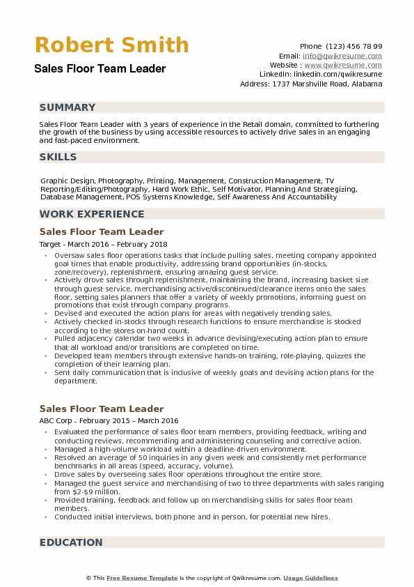 communication leadership skills on resume example