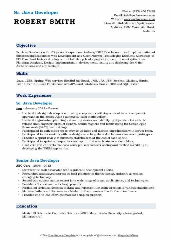 Java Developer Education Requirements - The Best Education Center