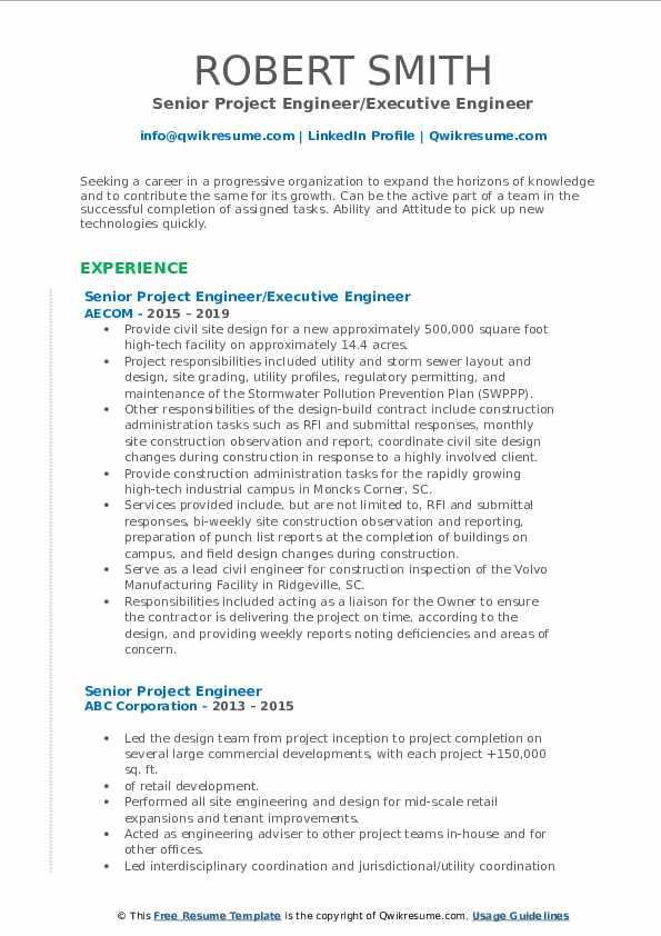 sample resume for avionics engineer pdf