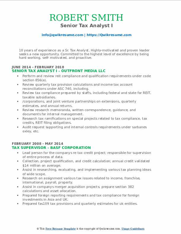 Entry-Level Accounting Resume Sample 4 Writing Tips RC12-13 tax