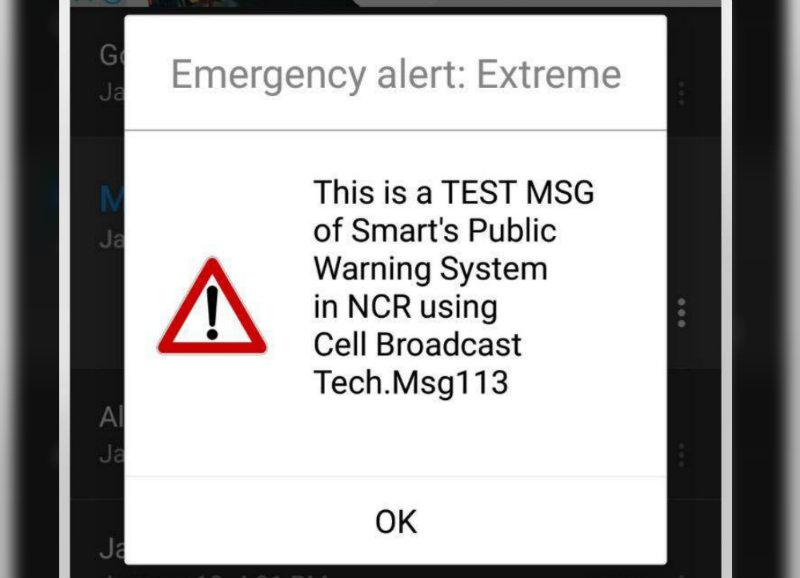 Telecommunication companies test emergency alert systems