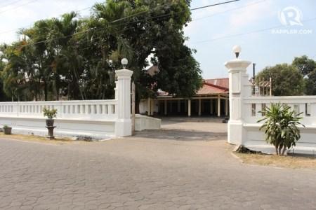 sasono mulyo keraton surakarta pernah dijadikan camp penahanan oleh
