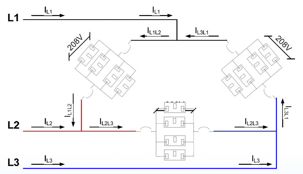 l1 l2 l3 wiring 3 phase