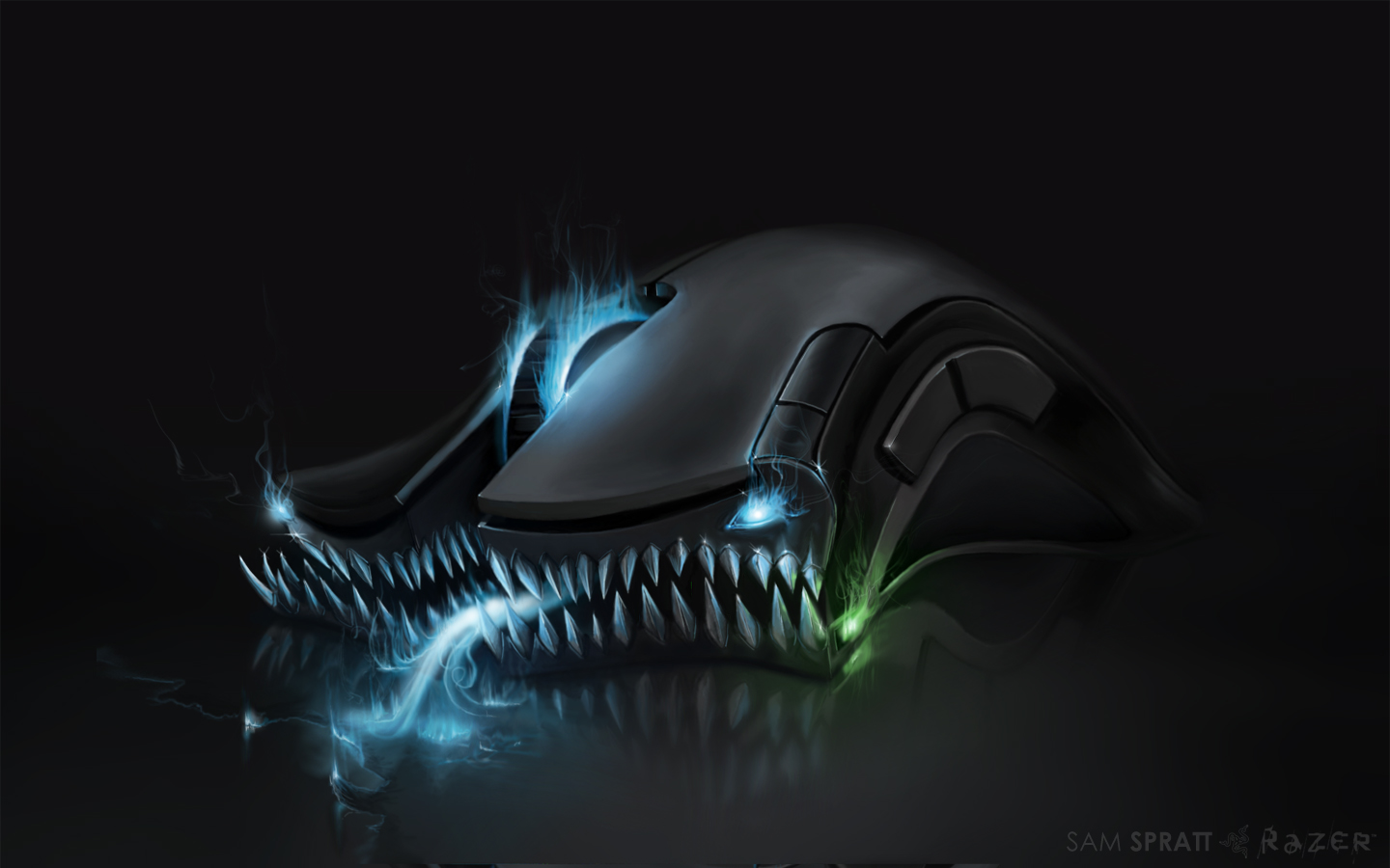 Linux Iphone Wallpaper Razer Wallpaper Ronald L337