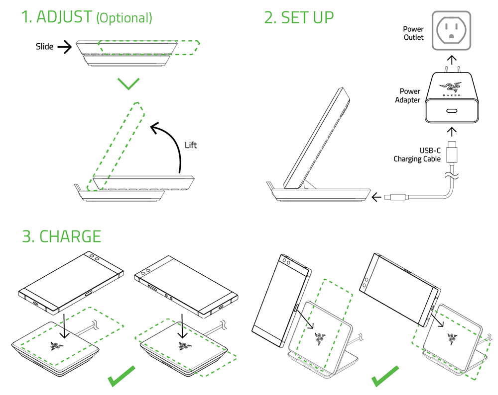 wireless phone charger diagram