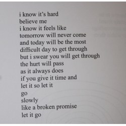 Small Crop Of Miss Me But Let Me Go Poem