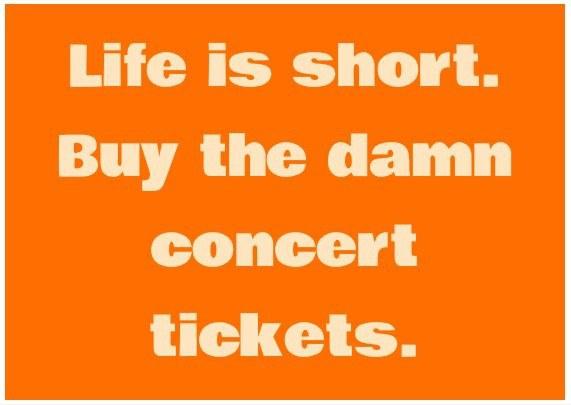 12 Signs You\u0027re A Concert Addict