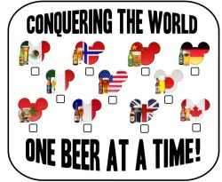 Enamour A Challenge To Drink Around Which Is Having A Full Drink Different People Get Crazy At Tips Being An Adult At Disney World Drink Around World Epcot List Drink Around World Epcot Food Wine Fest