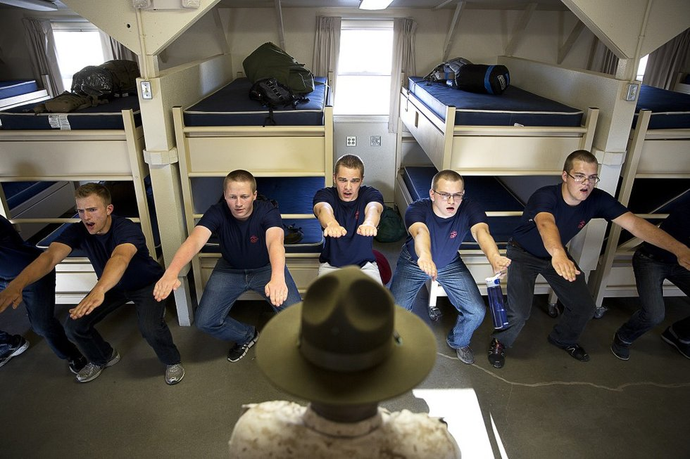 7 Heartwarming Photos Of Marine Drill Instructors
