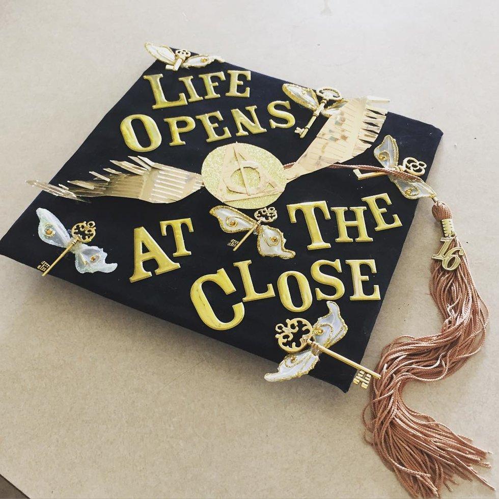 Fullsize Of Graduation Cap Ideas