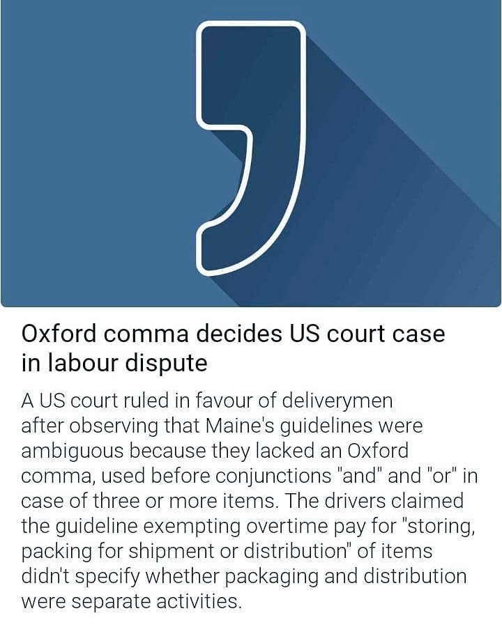 5 Reasons I Will Defend The Oxford Comma To My Grave, AP Style Be Damned
