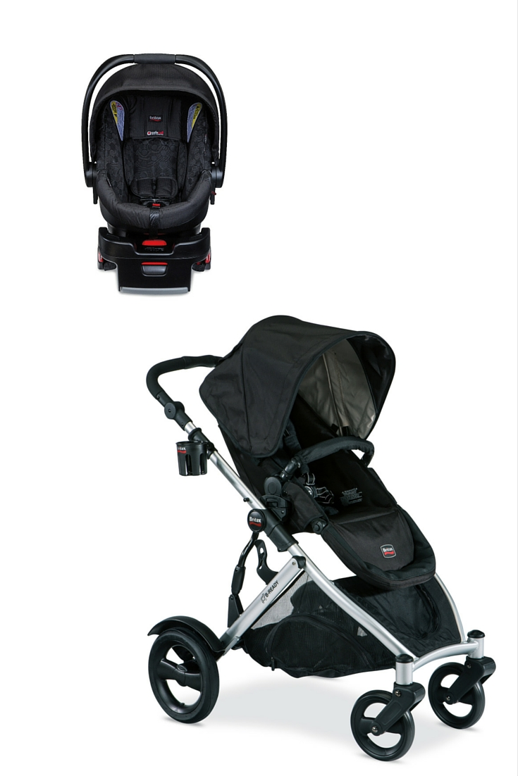 Britax Car Seat With Stroller Britax B Ready Stroller And B Safe 35 Car Seat Motherly