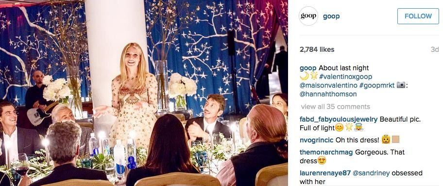 Gwyneth Paltrow Hopes Daughter Will Wear Oscar Gown To