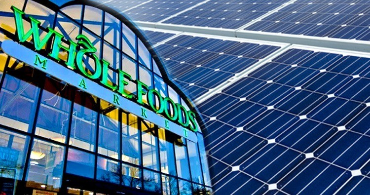 Whole Foods Teams Up With SolarCity, NRG to Install Solar on 100