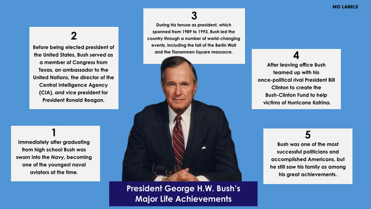 Five Facts President George HW Bush\u0027s Major Life Achievements