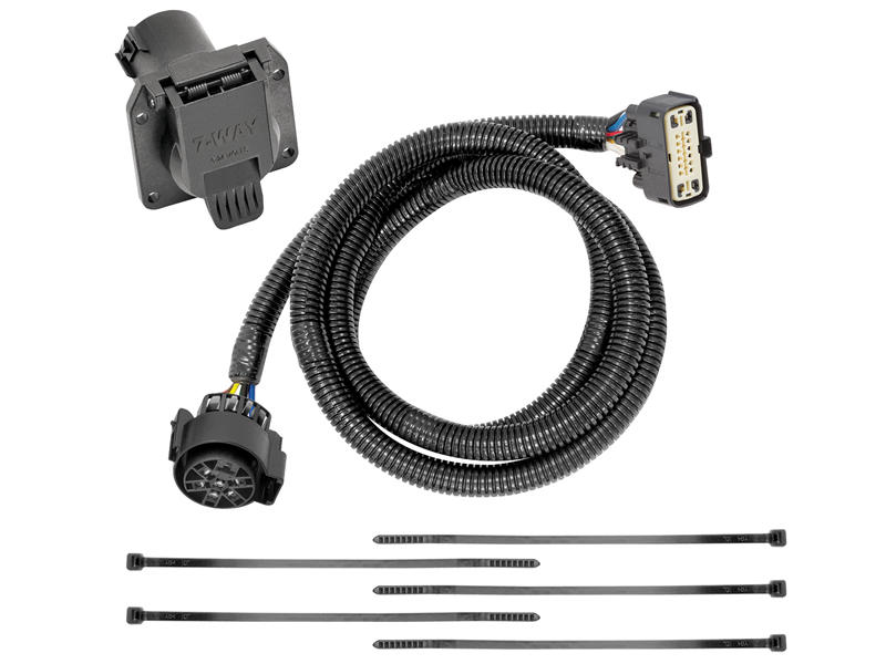 Tekonsha 118287 Custom Fit Wiring Harness with 7-Way Connector