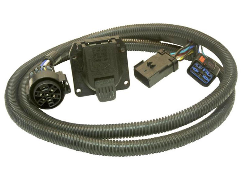 30137 5th Wheel and Gooseneck Wiring Harness for Dodge Pickups