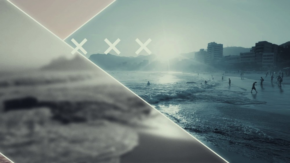 Partition Flashy Urban Slideshow - After Effects Template