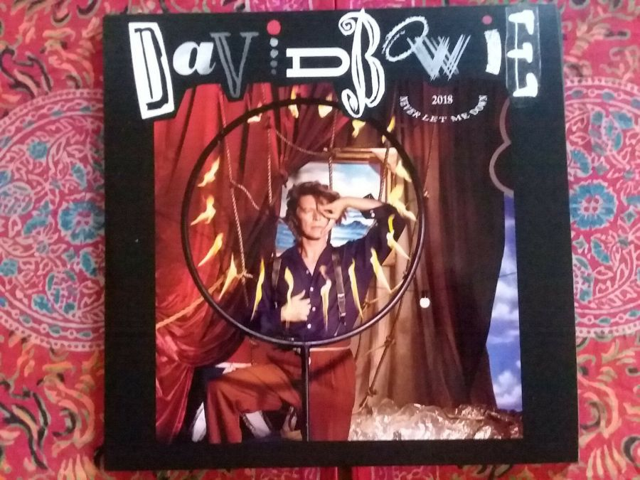 DAVID BOWIE Never Let Me Down 2018 REMIX MIX 2 LP Albums w/LAURIE ANDERSON RARE