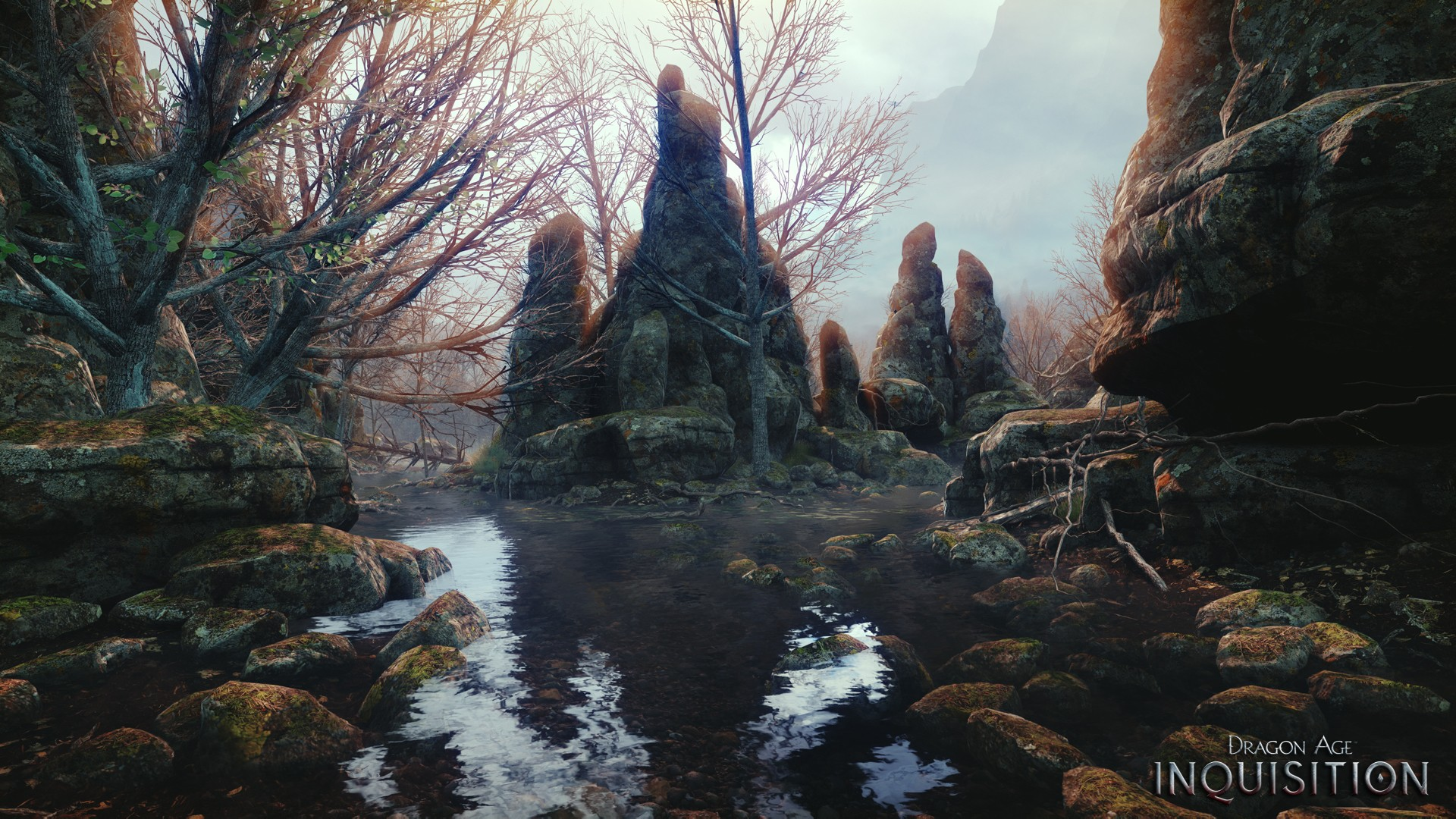 Fall Mountains Hd Wallpaper 13 Some Dragon Age Inquisition Environment Screenshots Rpg Site