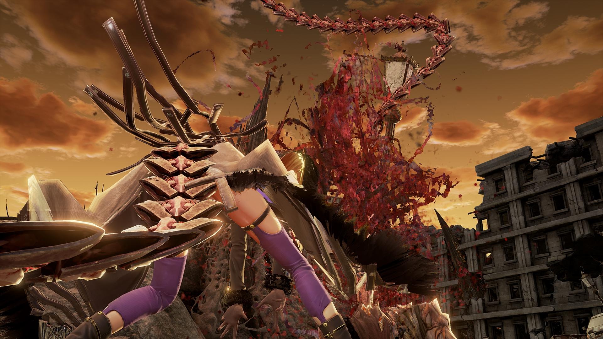 Fall Wallpaper Japan New Code Vein Screenshots Introduce Mia Karnstein Yakumo